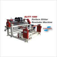 Duplex Surface Slitter Rewinder Machine