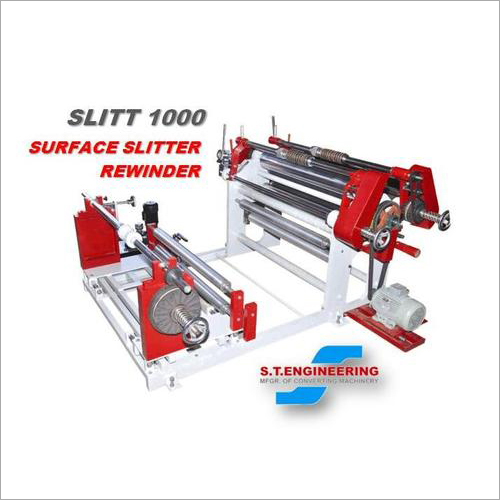 Surface Slitter Rewinder Machine
