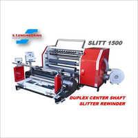 Center Shaft Slitter Rewinder Machine