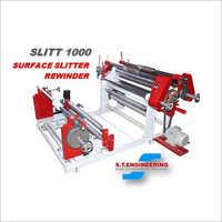 Surface Slitter Rewinder Machine