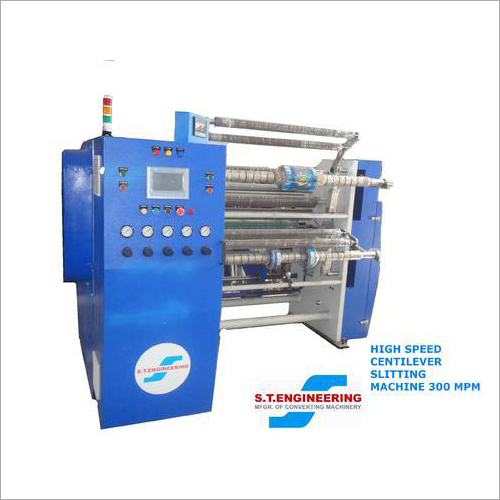 High Speed Centilever Slitting Machine