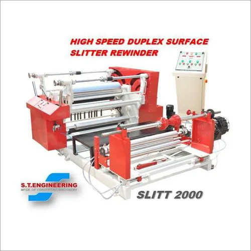 High Speed Drum Type Surface Slitter Machine