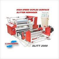 High Speed Drum Type Surface Slitter Machine