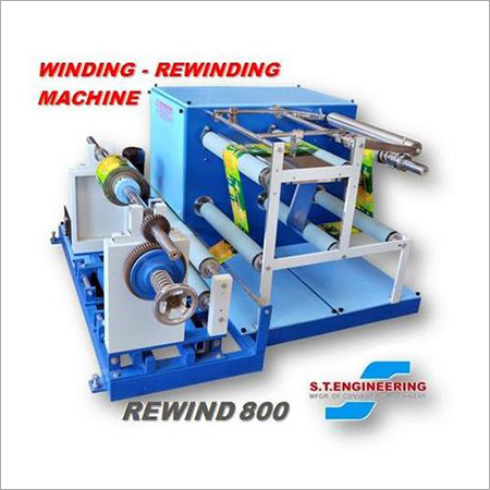 Heavy Duty Winding Rewinding Machine