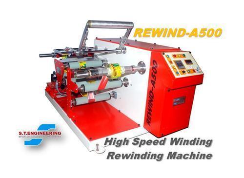 High Speed Winding Rewinding Machine