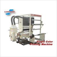 Single Color Rotogravure Printing Machine