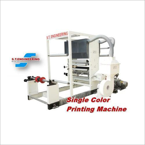 Single Color Printing Machine