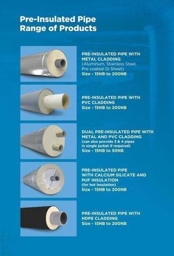 Pre Insulated Pipe