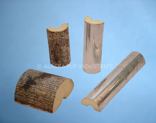 Laminated PUF Pipe Section