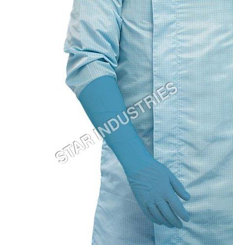 Long Powder Free Nitrile Gloves