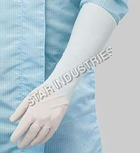 Long Powder Free Latex Gloves