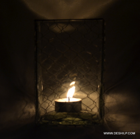 Squire Shape Candle Holder