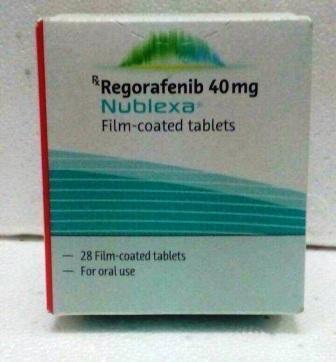 Stivarga Regorafenib 40 mg Tablet
