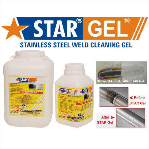 Passivation Chemical Weld Scale Remover Star Gel