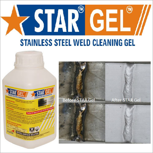 Stainless Steel Cleaning Chemicals Star Gel Pickling Paste