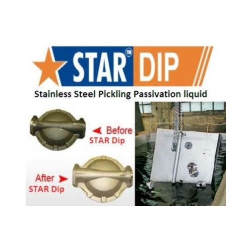 Stainless Steel Pickling Dip liquid Star Dip