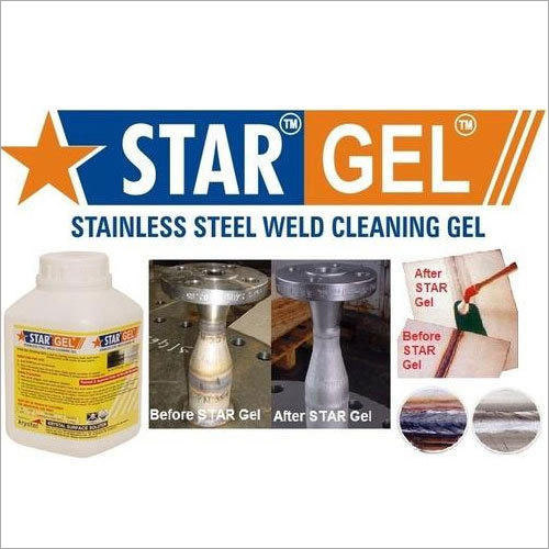 SS Weld Pickling Paste Star Gel