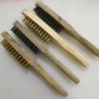 Strip brass brush