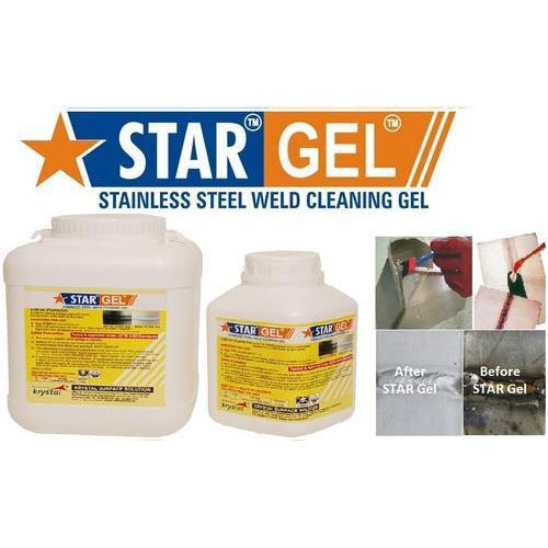 Weld Cleaner Stainless Steel Pickling Paste Gel