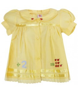 Andrea Yellow Frock