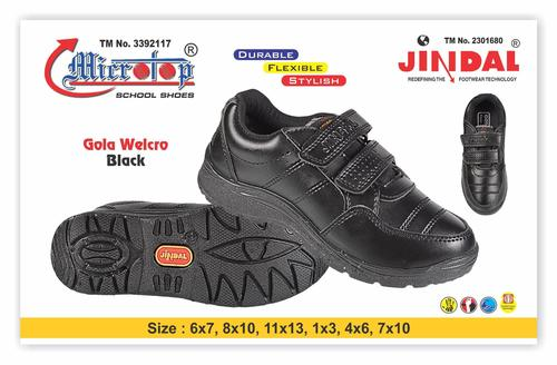 School Gola Welcro Black
