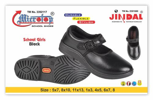 SCHOOL GIRL BLACK SHOE
