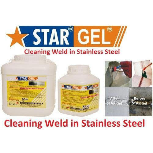 Cleaning Weld In Stainless Steel Star Gel