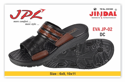 EVA MENS SLIPPER JP-02 D/C