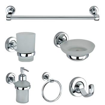 6 Piece Bathroom Accessories