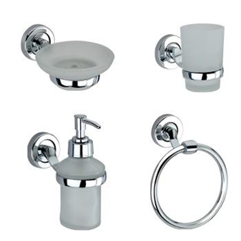 Designer Bathroom Accessories(Pack of 4)