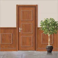 Teak Wood Texture Moulded Door