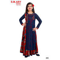 Girls Long Kurti With Legging