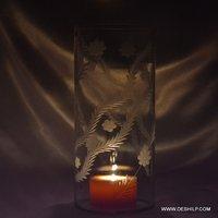 Long Hurricane Candle Holder