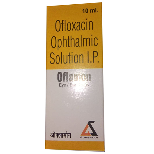Ofloxacin Ophthalmic Soloution IP