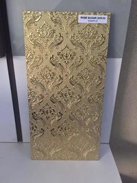Gold ceramic tiles