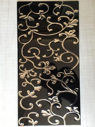 gold decorative wall tiles
