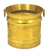 Brass Metallic Planters