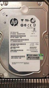 HP 4TB SAS Hard Drive