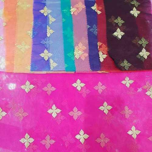 Net Fancy Embroidery Fabric