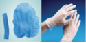 PP Disposable Gloves /Cap