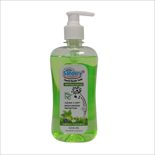 Green Natural Hand Wash Gel