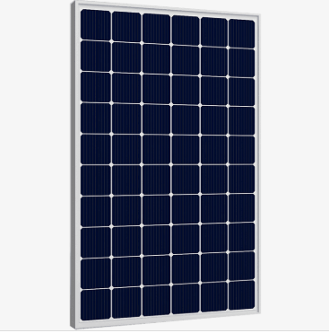 With high-quality monocrystal and polycrystal photovoltaic system