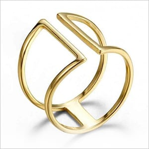 Gold Plated Handmade Ring