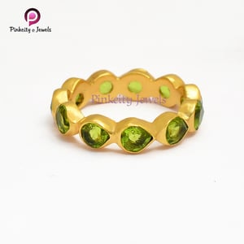 Peridot 925 silver Ring