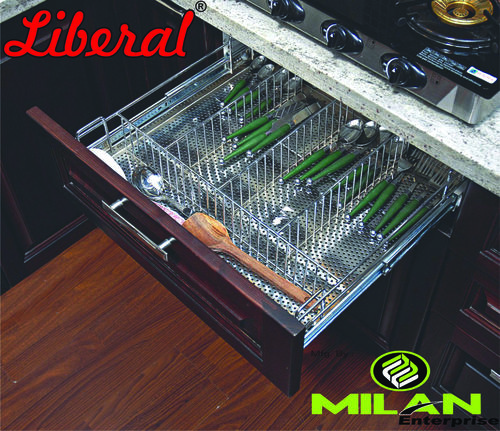 Wire Perforated Cutlery basket