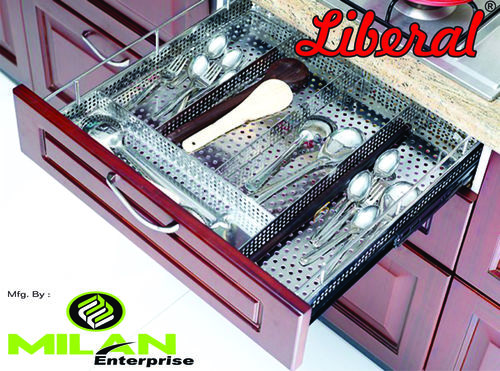 Perforated Cutlery Kitchen basket