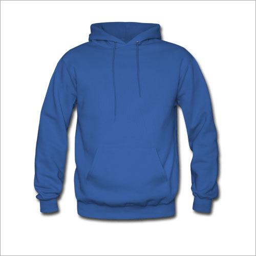 Hooded Woolen Sweatshirt