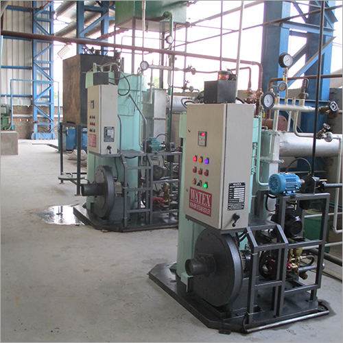 Non IBR Coil Type Package Boiler