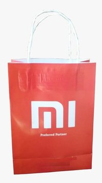 Printed customized paper bags