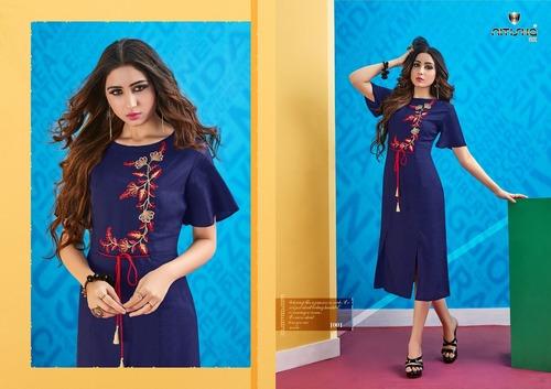 Stylish Ethnic Wear Ladies Designer Kurties